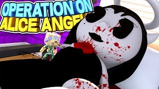 Minecraft BENDY AND THE INK MACHINE GIRLFRIEND ALICE ANGEL NEED EMERGENCY OPERATION!!!- Baby Leah