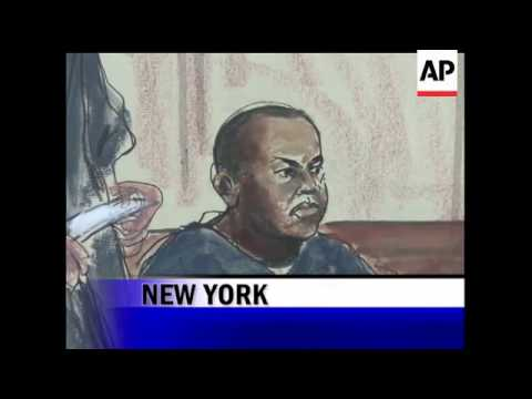 """Christopher """"Dudus"""" Coke appeared in U.S. court after the government sought for months to extradite"""
