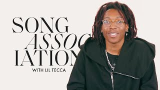 """Lil Tecca Raps Migos, Young Thug and """"REPEAT IT"""" in a Game of Song Association 