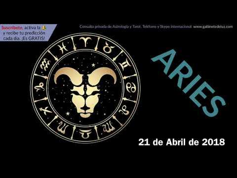 Horóscopo Diario - Aries - 21 de Abril de 2018