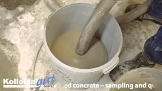 GERTEC: Poured Foamed Concrete Samples, cellular concrete lightweight concrete,