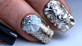 Самый Крутой Новогодний Дизайн Ногтей | The Coolest Winter Nail Design