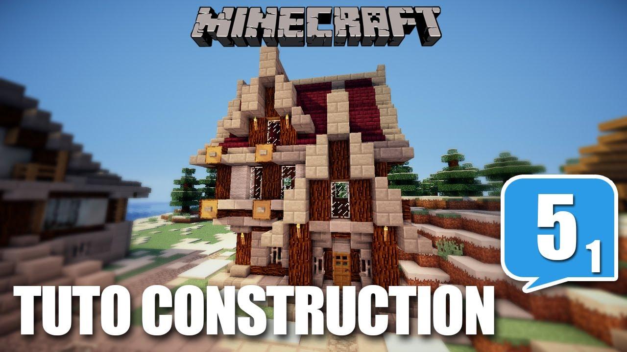 Tuto construction ep05 part 01 comment bien construire sur mine - Video minecraft construction ...