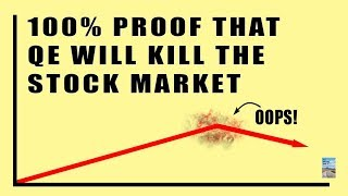 100% Proof QE Will Cause Decades of Deflation in the Stock Market Right Before The Dollar Falls!