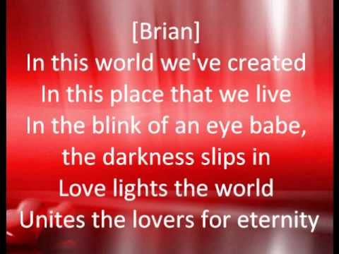 Love Is Lyrics by Brian McKnight and Vanessa Williams (Contains The Simpsons)