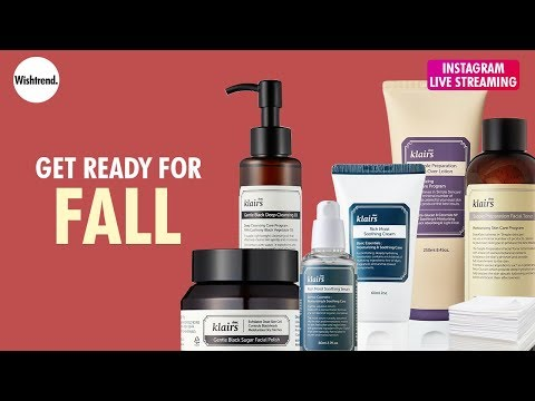Update Fall Skincare with Your Current Summer Skincare Products You Already Have Feat. Wishtrend
