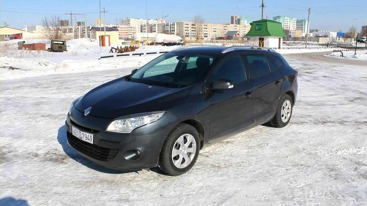2010 renault megane estate start up engine and in depth. Black Bedroom Furniture Sets. Home Design Ideas