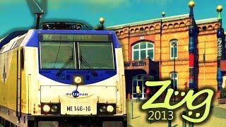 Zug2013: Bahnhof Uelzen - Teil 2 mit IC, Metronom, BR146, BR648, BR622 u.v.m.
