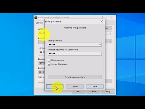 How to lock a folder with a password on windows 10 ...