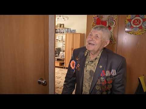 """ХК """"Металлург"""" поздравил ветеранов Кузнецких металлургов с Днем Победы"""