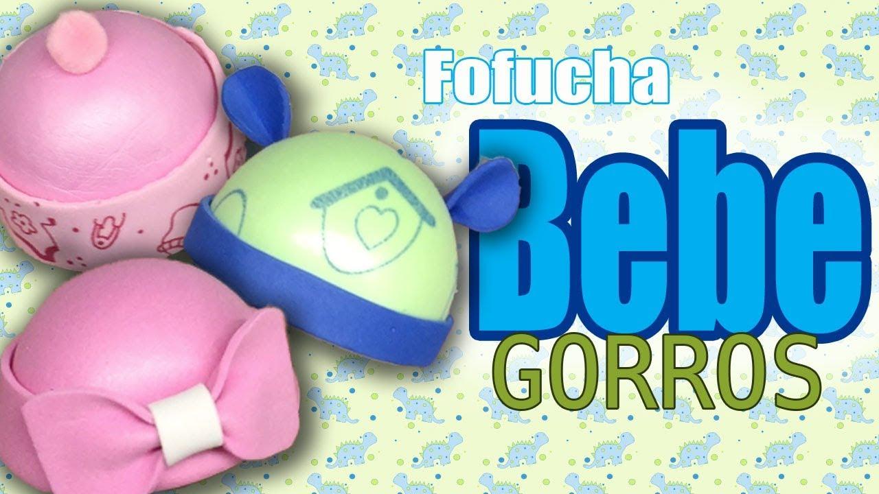 Gorros para fofucha bebe 3 estilos baby fofucha hats for Beb it