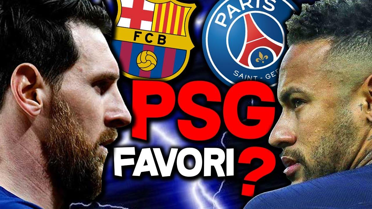 PSG BARÇA 🏆 Paris va-t-il se venger de la Remontada ?