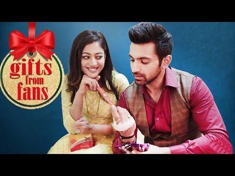 Kaleerein Stars Aditi Sharma & Arjit Taneja Receive Gifts From Fans | Telly Reporter Exclusive
