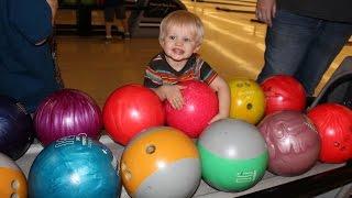 First Time Bowling Fun!!
