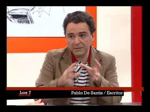 Pablo De Santis en Los siete locos