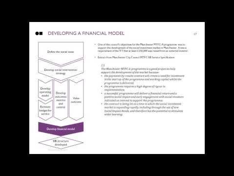 Social Finance Webinar: Introduction to the MTFC Social Impact Bond