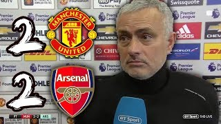 MOURINHO: SACKED AFTER ANOTHER DRAW? | MAN UTD 2-2 ARSENAL