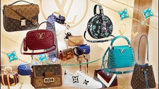 LOUIS VUITTON Luxury Shopping Vlog ☆ New Collection! ☆ MINI DAUPHINE ☆ BOITE CHAPEAUX ☆ NEW WAVE☆