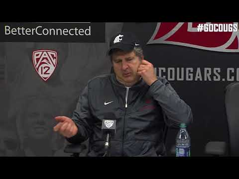 Mike Leach Stanford Postgame