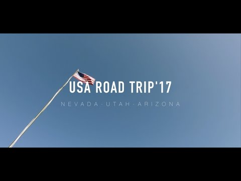 USA WEST COAST ROAD TRIP 2017 (Full HD1080p)