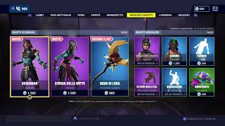 SHOP FORTNITE 01/04/2019!! NOUVEAU EMOTE SCAZZOTTATA, SKIN TRINA, PARADOSSO ET SET OSSO OF LUNA