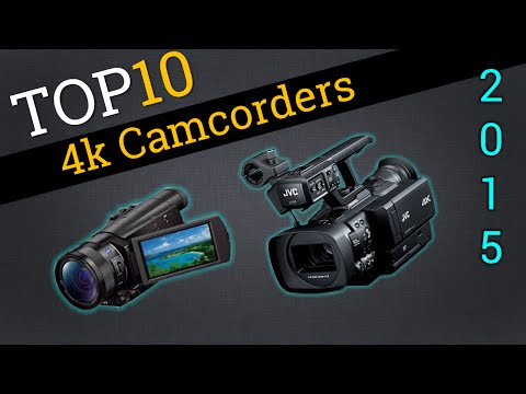 Top Ten 4k Camcorders 2015 | Best 4k Video Camera Review