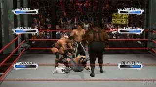 WWE SmackDown vs. Raw 2009 PlayStation 3 Gameplay - Friday Fights: Elimination Chamber