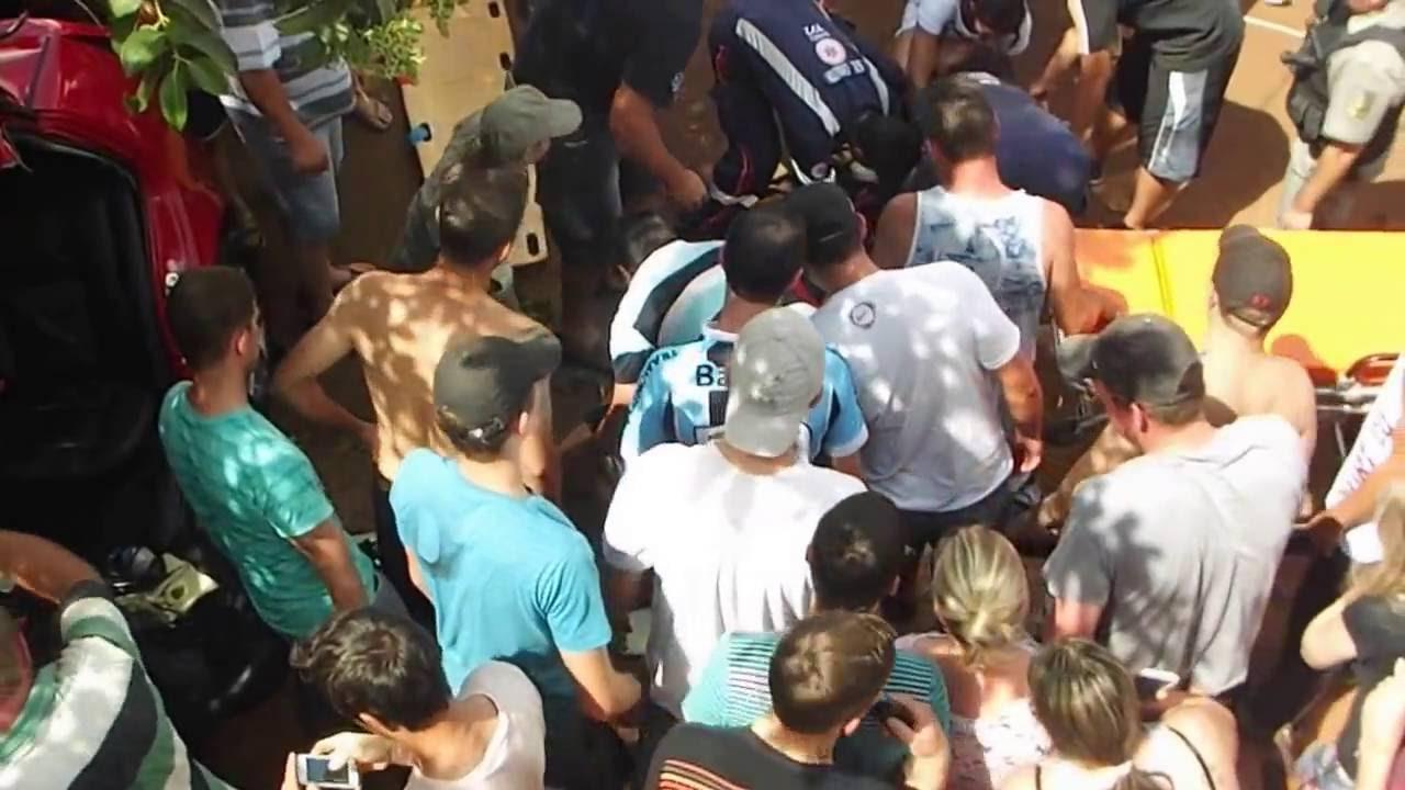 5ac4429722f5 PAULO MARQUES NOTÍCIAS - ACIDENTE EM TRES DE MAIO 1 - YouTube