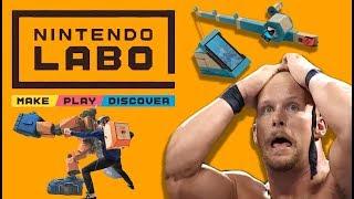 Nintendo Labo Sucks! - 4 Reasons Why!