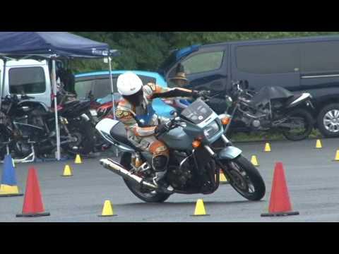 2017 7 23 Dunlop Moto Gymkhana うらいけ 選手 ZRX 1100 h 1 & h 2