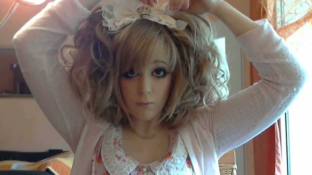 Hime Gyaru Curled Twintail Hair Tutorial Himena Ousaki Inspired