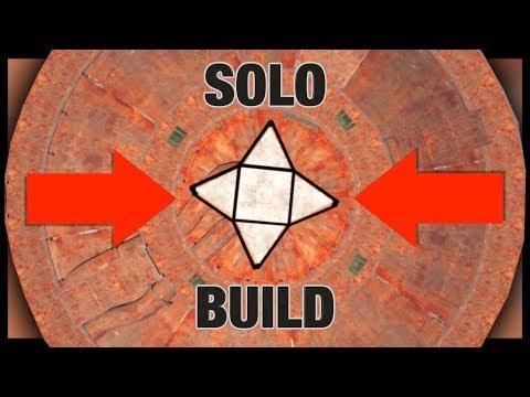 RAIDING a SOLO BASE BUILD at DOME