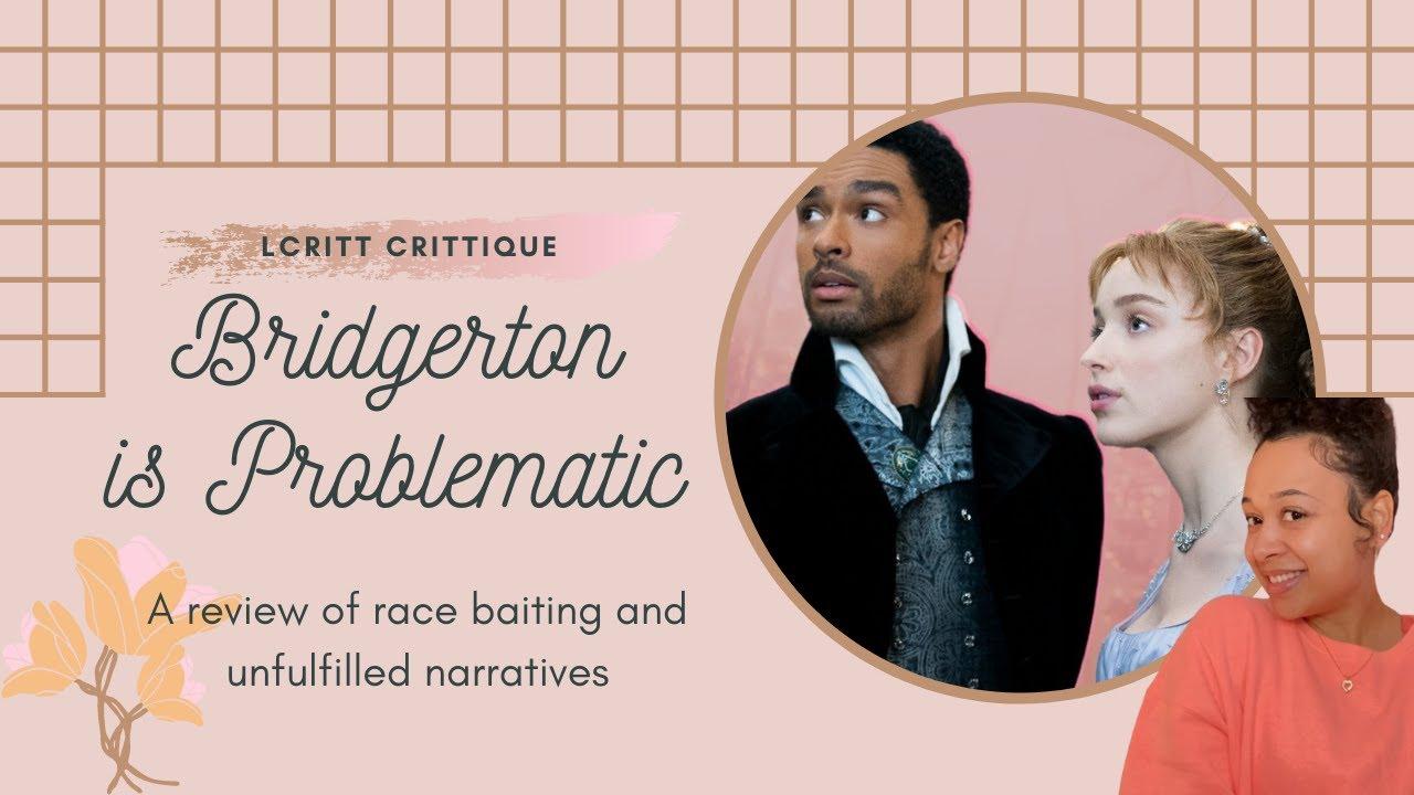 LCritt CRITTique: 'Bridgerton is Problematic'//NON-SPOILER REVIEW