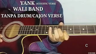 Chord melody lagu band wali yank cover gitar
