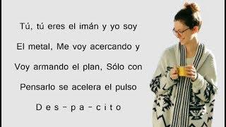 DESPACITO - Luis Fonsi feat. Justin Bieber | Romy Wave Cover (Lyrics)