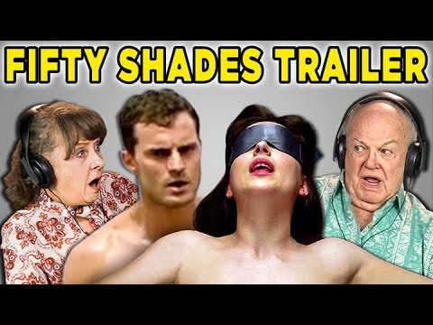 ELDERS REACT TO (AND READ FROM) FIFTY SHADES FREED MOVIE TRAILER
