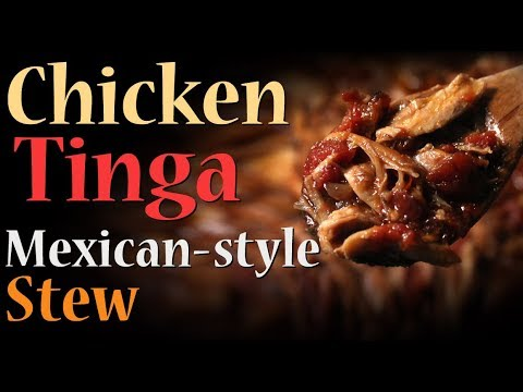 Chicken Tinga Recipe – Mexican Style Stew