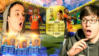 ABSOLUTELY JAW-DROPPING WALKOUTS!!!! - FIFA 17 PACK OPENING