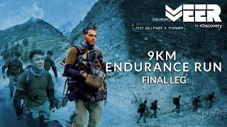 9 KM Endurance Run - Final Leg | India's Citizen Squad E4P3 | Veer By Discovery
