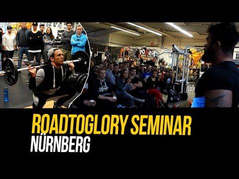 Ernährungs & Trainings Seminar Nürnberg Vlog & Schulter Training