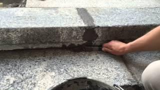 Реставрация гранитных ступеней, ул. Новый Арбат