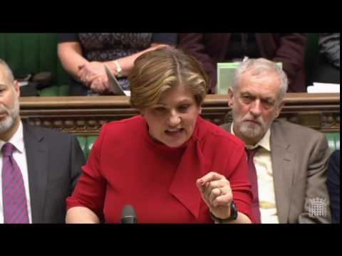 Emily Thornberry on Theresa May's response to Trump's Muslim ban.