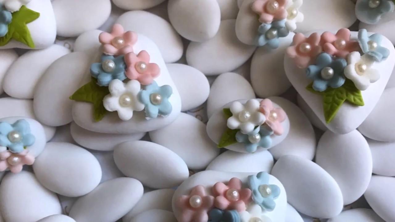 Bomboniere Per Matrimonio Youtube.Confetti Decorati Artezucchero Bomboniere E Creazioni