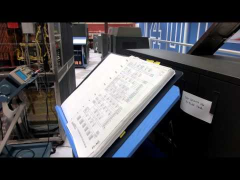 Restored 1960s  IBM 1401 Tapes Punch-card and Printer -2