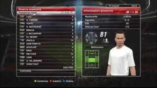 MASTER LEAGUE ONLINE PES 2014 #EPISODIO 6 Gameplay ITA PC