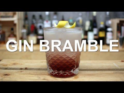 Gin Bramble Gin Cocktail Recipe