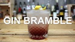 Gin Bramble Gin Cocktail Recipe