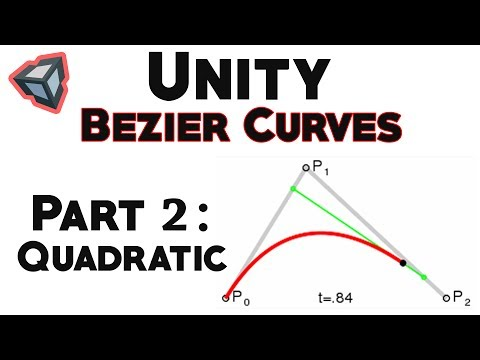 Bezier Curves in Unity: Quadratic Curve