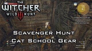 The Witcher 3: Wild Hunt - Scavenger Hunt: Cat School Gear - Treasure Hunts - Novigrad