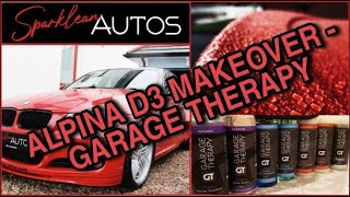 Garage Therapy takes on Filthy BMW Alpina D3 Pt 1  #garage #therapy #alpina